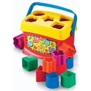 Fisher Price Brilliant Baby's First Blocks