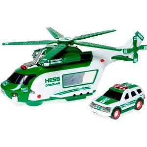 Hess Helicopter and Rescue Vehicles