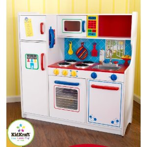 KidKraft Deluxe Lets Cook Kitchen