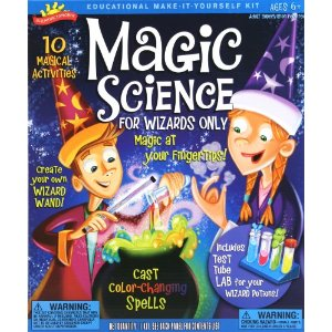 Wizard science kit