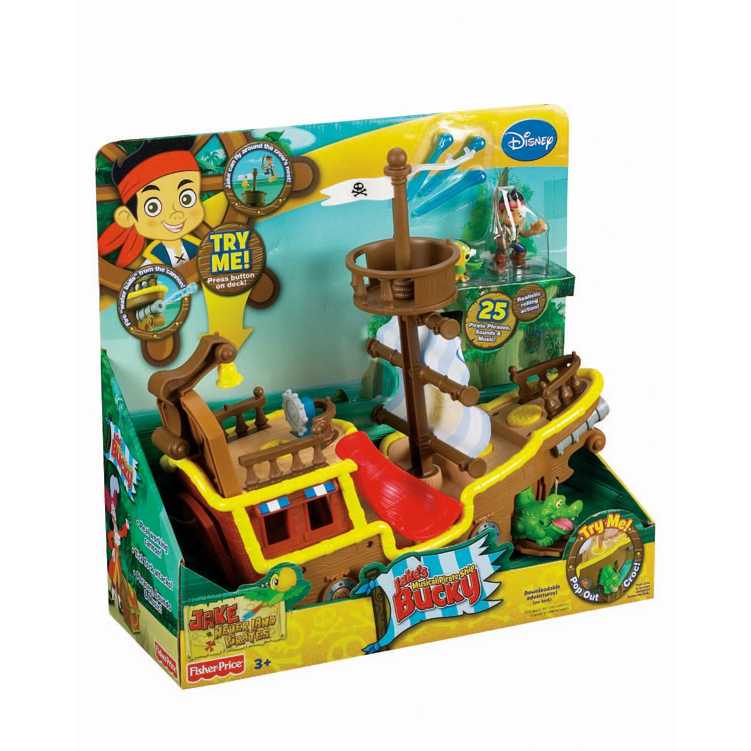 Peter Pan Pirate Ship Toy The Pirate Ship is From Peter