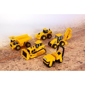 Toystate Caterpillar Construction Mini Machines