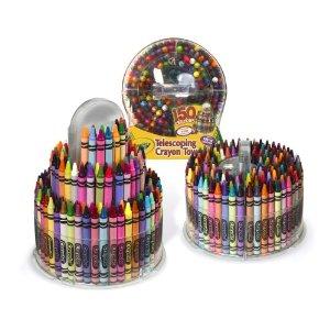 Crayon tower