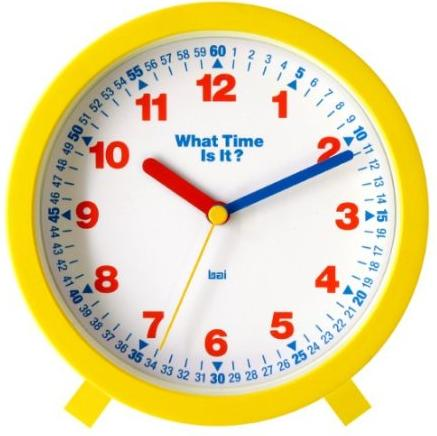 Toy Clock For Teaching Time Toys That Teach Time