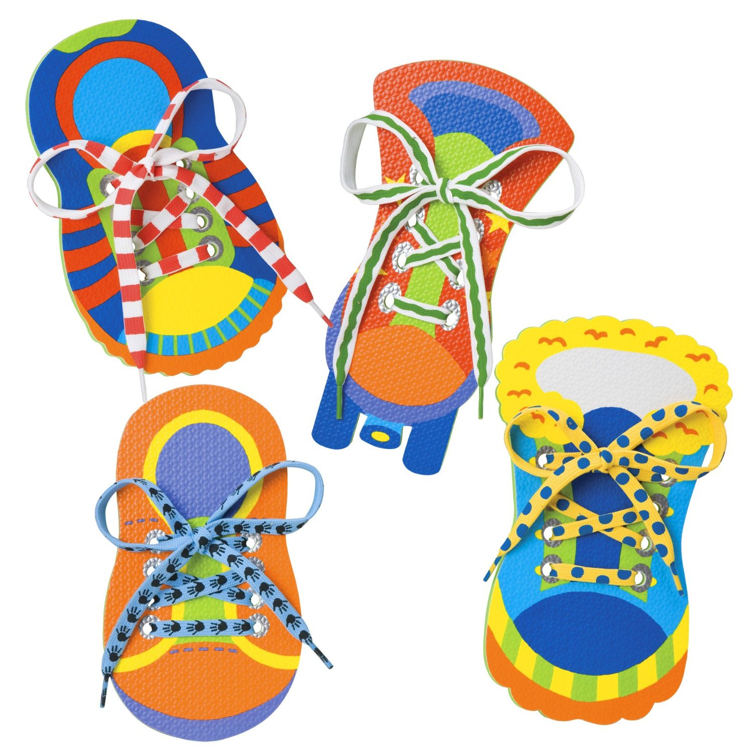 Other Educational Toys 1x shoe lace tying practice wooden shoe toy